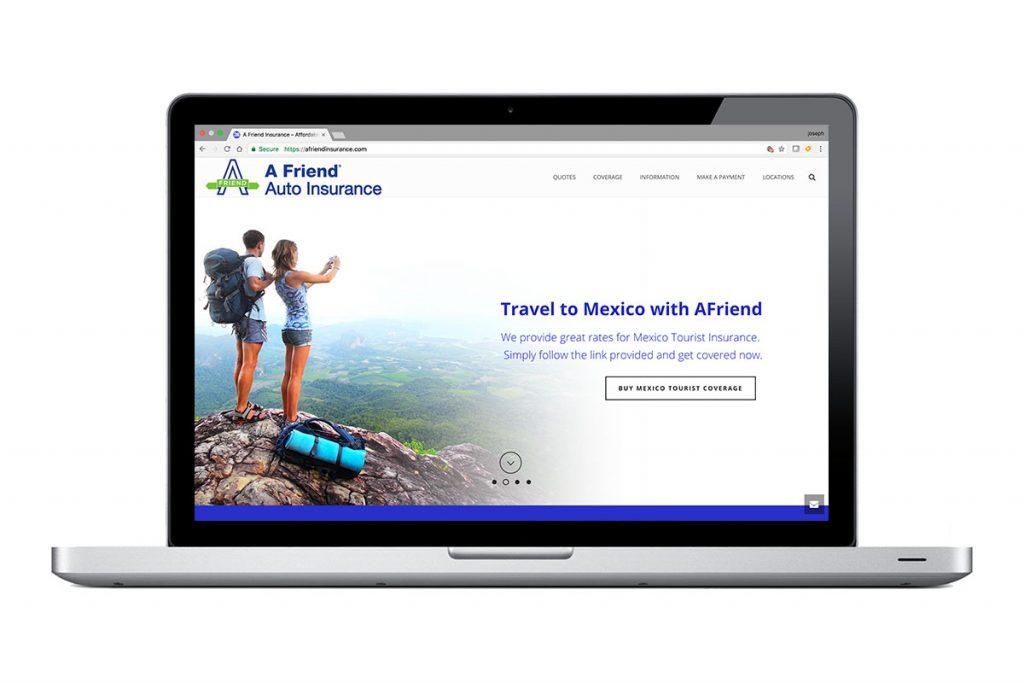 Afriend Insurance Website
